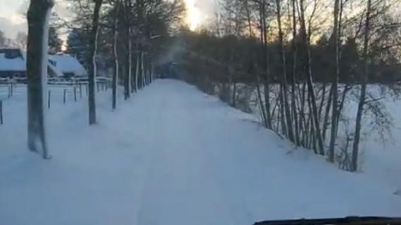 Moskou in de sneeuw