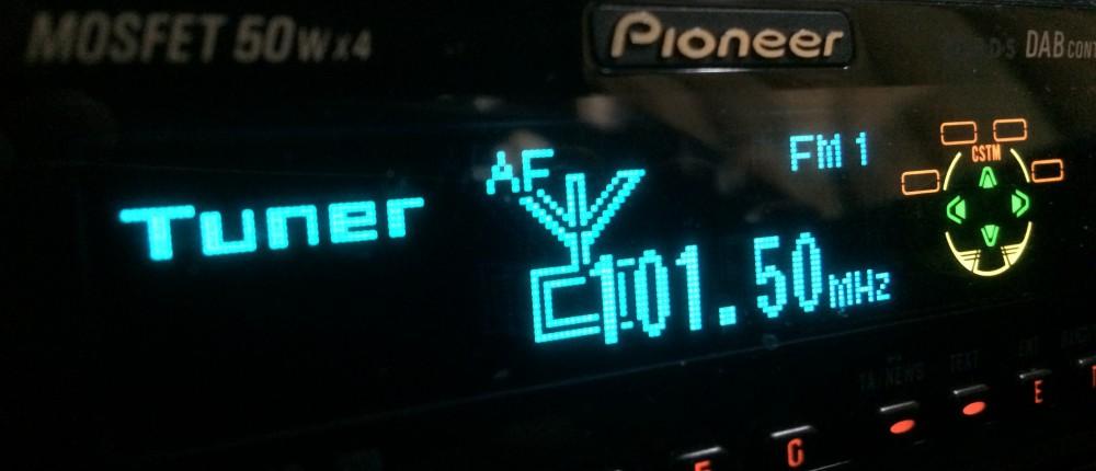 24 Uur per dag On-Air op 101.50 FM