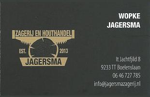 Vrolijke Strijders Sponsor Zagerij en Houthandel Jagersma