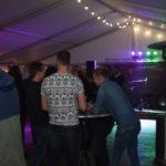 Vrolijke Strijders Eindejaarsmarathon 2019, Feestavond met Sytse Haima, Johan van der Donk en Zanger Albert Gjaltema
